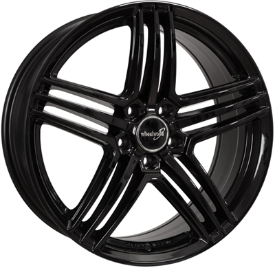 320799 WW WH1212 7517511235 Wheelworld Wh12  fælg, 7.5x17 ET35, 112.00/5, Ø66.6, black glossy WheelWorld