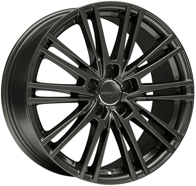 318035 WW WH181 9020511220 Wheelworld Wh18  fælg, 9x20 ET20, 112.00/5, Ø66.6, dark gunmetal WheelWorld