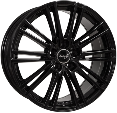 313232 WW WH1813 8018511245 Wheelworld Wh18  fælg, 8x18 ET45, 112.00/5, Ø66.6, black glossy WheelWorld