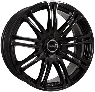 319389 WW WH231 7517512045 Wheelworld Wh23 fælg, 7.5x17 ET45, 120.00/5, Ø72.6, black glossy WheelWorld
