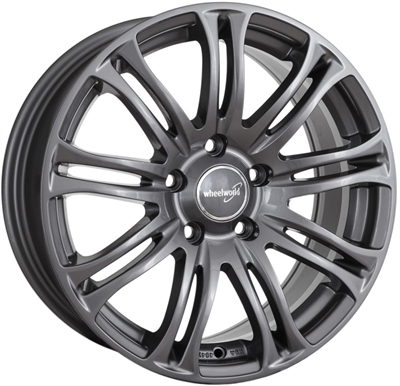 319617 WW WH2312 8518512035 Wheelworld Wh23 fælg, 8.5x18 ET35, 120.00/5, Ø72.6, daytona grey WheelWorld