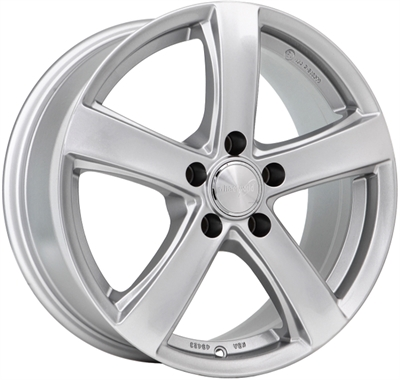 311229 WW WH24 6516511541 Wheelworld Wh24 fælg, 6.5x16 ET41, 115.00/5, Ø70.3, race silver WheelWorld