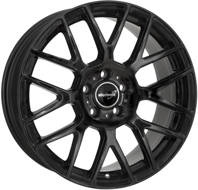 313418 WW WH261 7517512035 Wheelworld Wh26 fælg, 7.5x17 ET35, 120.00/5, Ø72.6, black glossy WheelWorld