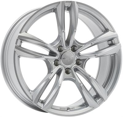 324104 WW WH2912 851951123B Wheelworld Wh29 fælg, 8.5x19 ET30, 112.00/5, Ø66.6, race silver WheelWorld