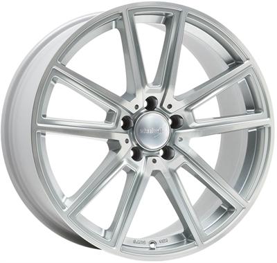 324364 WW WH301 8519511230B Wheelworld Wh30 fælg, 8.5x19 ET30, 112.00/5, Ø66.6, silver full machined WheelWorld
