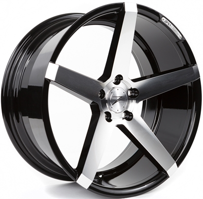 323115 ZPE 61P 9020511220B Z-performance Zp6.1 fælg, 9x20 ET20, 112.00/5, Ø66.6, phantom black polished Z-Performance