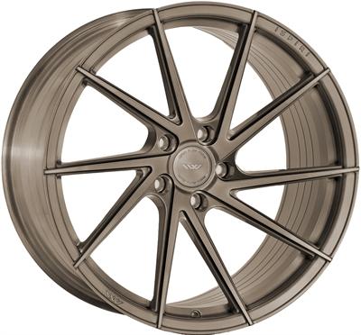 345180 ISP FFR17 9520512025 Ispiri Wheels Ffr1d fælg, 9.5x20 ET25, 120.00/5, Ø72.6, matt carbon bronze Ispiri Wheels