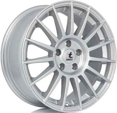 332244 ITW IWSO 7517511235 It Wheels Sofia fælg, 7.5x17 ET35, 112.00/5, Ø74, silver IT Wheels