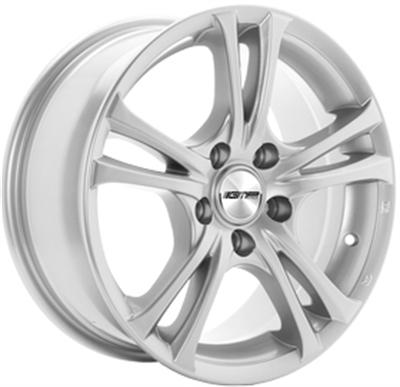 392323 GMP EA2 7016509835 Gmp Easy-r  fælg, 7x16 ET35, 98.00/5, Ø67, silver GMP Italia