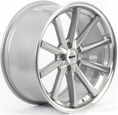 337553 OEM 116 9519511242B Oems Wheels 110 fælg, 9.5x19 ET42, 112.00/5, Ø73, silver & polished OEMS Wheels
