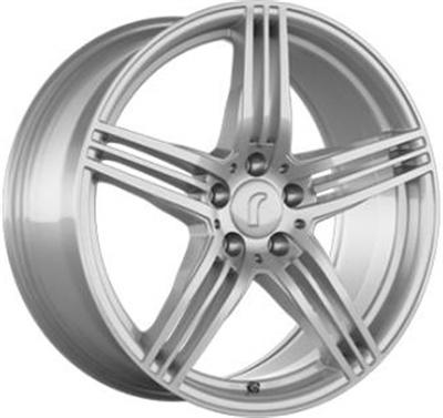 309790 ROD DESI 8518511233 Rondell Design 0217 fælg, 8.5x18 ET33, 112.00/5, Ø70.3, silver Rondell