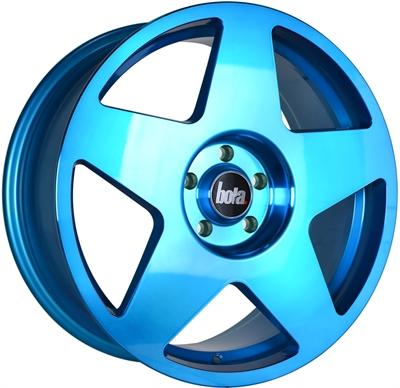 368836 BOA B11 8519512030D Bola B10 fælg, 8.5x19 ET30, 120.00/5, Ø72.6, hyper blue Bola