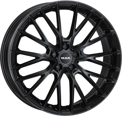 379719 MAK SPBB 9021511225 MAK Speciale BMW fælg, EH2+ 9x21 ET25, 112.00/5, Ø66.45, gloss black MAK