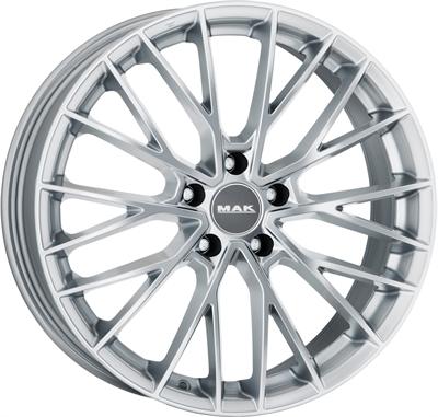 380440 MAK SPBS 8520511230 MAK Speciale BMW fælg, 8.5x20 ET30, 112.00/5, Ø66.6, silver MAK