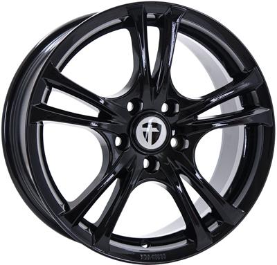 390411 TOM EAB 7517511042 Tomason Easy fælg, 7.5x17 ET42, 110.00/5, Ø73, black glossy Tomason