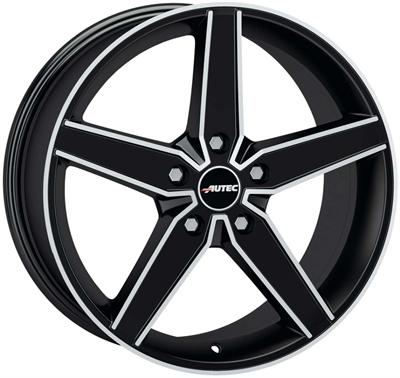 410488 AUT DE 8019511240 Autec Delano  fælg, 8x19 ET40, 112.00/5, Ø57, matt black polished Autec