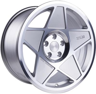 335751 3SD 0.6 8519511235B 3SDM 0.05 fælg, 8.5x19 ET35, 112.00/5, Ø73, silver & polished 3SDM