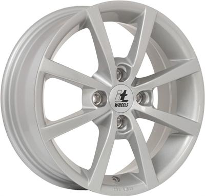 419922 ITW IT3 6516410826 It Wheels Alisia fælg, 6.5x16 ET26, 108.00/4, Ø65, silver IT Wheels