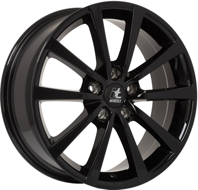 420017 ITW IT2 7017511240 It Wheels Alice fælg, 7x17 ET40, 112.00/5, Ø66.5, gloss black IT Wheels
