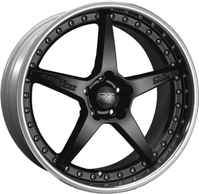 417802 OZ CR1 8520512034 Oz Racing Crono Iii fælg, 8.5x20 ET34, 120.00/5, Ø79, sort/poleret kant OZ Racing
