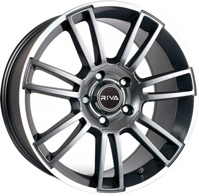 417202 RIV AT 8520511232B Riva Wheels Atv fælg, 8.5x20 ET32, 112.00/5, Ø73, antrasit/poleret Riva Wheels