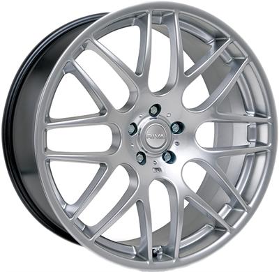 440470 RIV DT3 8019512018C Riva Wheels Dtm fælg, 8x19 ET18, 120.00/5, Ø72.6, sølv Riva Wheels