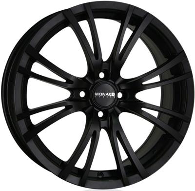 419884 MC MO120 8018511230 Monaco Hairpin fælg, 8x18 ET30, 112.00/5, Ø73, dull black Monaco