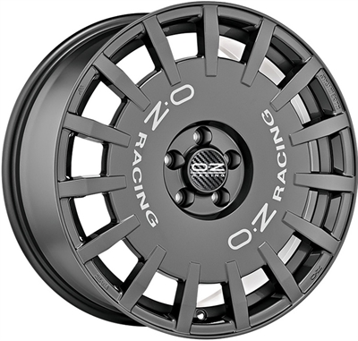 416051 OZ RA12 8017509835 Oz Racing Rallyracing fælg, 8x17 ET35, 98.00/5, Ø58, dark graphite OZ Racing