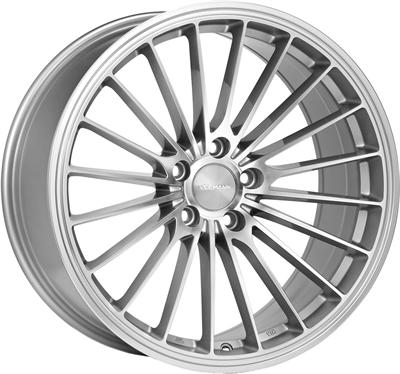 431398 VEE V-24 8519512035 Veeman V-fs36 fælg, 8.5x19 ET35, 120.00/5, Ø72.56, silver machined Veeman