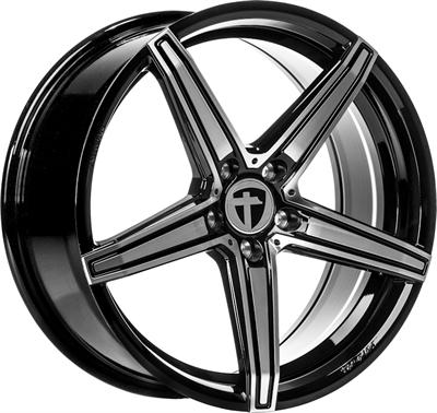 411874 TOM TN 8018511235B Tomason Tn20 fælg, 8x18 ET35, 112.00/5, Ø72.6, dark hyper black polished Tomason