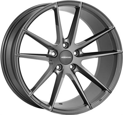 412013 VEE V-21 8520512035B Veeman V-fs25 fælg, 8.5x20 ET35, 120.00/5, Ø72.6, gloss graphite Veeman