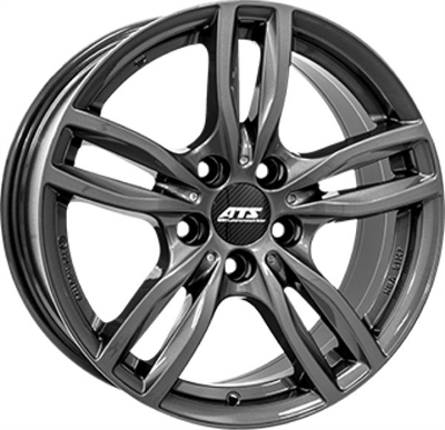 412879 ATS EV2 7016512040B Ats Evolution fælg, 7x16 ET40, 120.00/5, Ø72.6, dark-grey ATS
