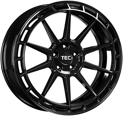 411906 TEC GT4 9020511235C Tec By Asa GT8 fælg, 9x20 ET35, 112.00/5, Ø72.5, black glossy TEC by ASA