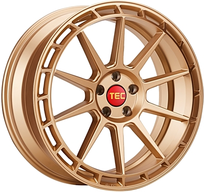 411945 TEC GT9 9020511225D Tec By Asa GT8 fælg, 9x20 ET25, 112.00/5, Ø72.5, rosé gold TEC by ASA