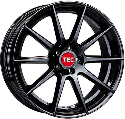 324155 TEC GT7M 8519512035B Tec By Asa Gt7 fælg, 8.5x19 ET35, 120.00/5, Ø72.6, matt black TEC by ASA