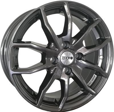 420649 TEK RX10A 8018511235 Tekno RX10 fælg, 8x18 ET35, 112.00/5, Ø72.2, Dark Anthracite Gloss Tekno Wheels