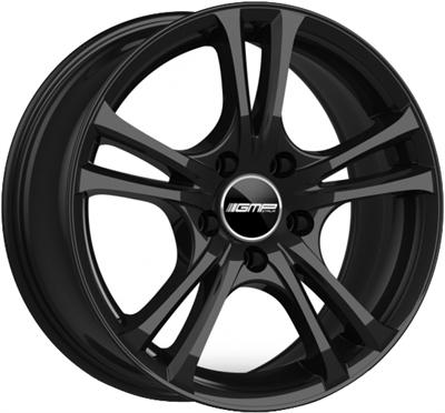 448945 GMP EA10 751749830 Gmp Easy-R fælg, 7.5x17 ET30, 98.00/4, Ø73.1, glossy black GMP Italia