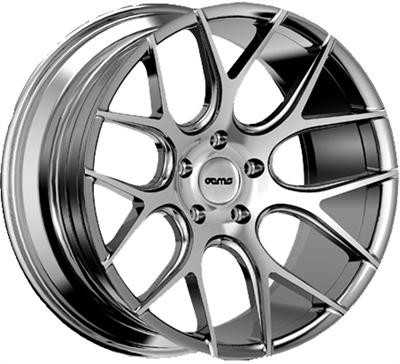 293675 OEM FS6 8520512035 Oems Wheels Fs6 fælg, 8.5x20 ET35, 120.00/5, Ø72.6, silver machined face OEMS Wheels