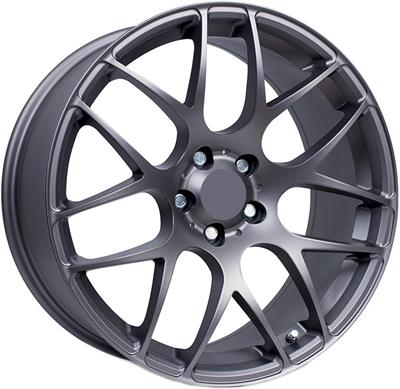 427426 KWS S14G 8519511245 KW Series S14 fælg, 8.5x19 ET45, 112.00/5, Ø73, matt graphite KW Series
