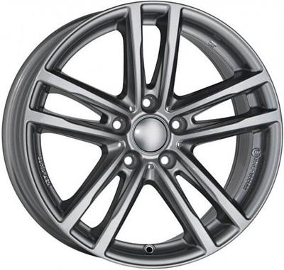 432235 UW X10XG 9019511238B Uniwheels X10x fælg, 9x19 ET38, 112.00/5, Ø66.6, metal-grey Rial