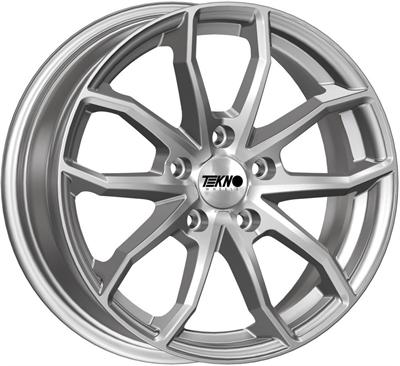 420666 TEK RX10S 8018511245 Tekno RX10 (SUV) fælg, 8x18 ET45, 112.00/5, Ø66.6, Silver Tekno Wheels