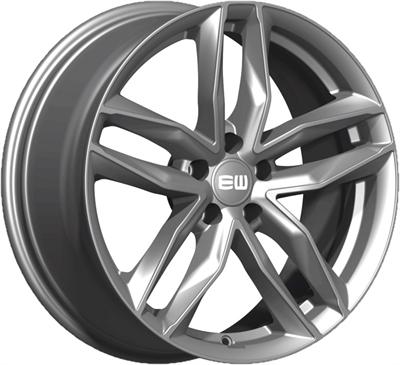428302 ETW MUP 8519511245 Elite Must fælg, 8.5x19 ET45, 112.00/5, Ø66.45, Palladium Elite Wheels