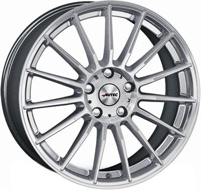 429085 AUT LAS 8019511536 Autec Lamera fælg, 8x19 ET36, 115.00/5, Ø70.3, hyper silver Autec