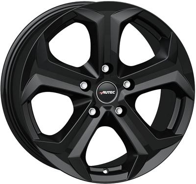 433516 AUT XE 8519511230 Autec Xenos fælg, 8.5x19 ET30, 112.00/5, Ø66.6, black matt Autec
