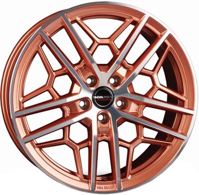 429237 BOR GTYC 8519511245 Borbet GTY fælg, 8.5x19 ET45, 112.00/5, Ø72.6, copper polished glossy Borbet