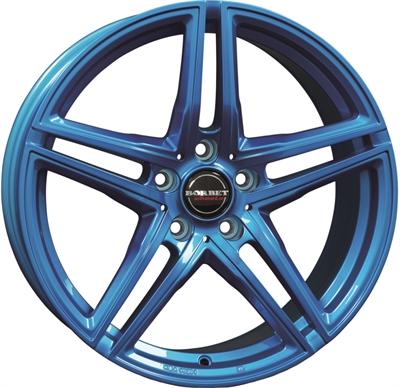 325447 BOR XRTC 8519511240B Borbet Xrt  fælg, 8.5x19 ET40, 112.00/5, Ø72.5, candy blue Borbet