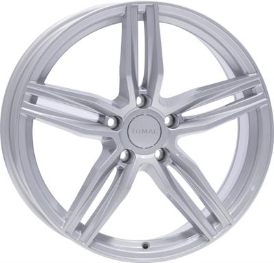 430815 RMC VES 8518511245 Romac Venom fælg, 8.5x18 ET45, 112.00/5, Ø73, silver Romac