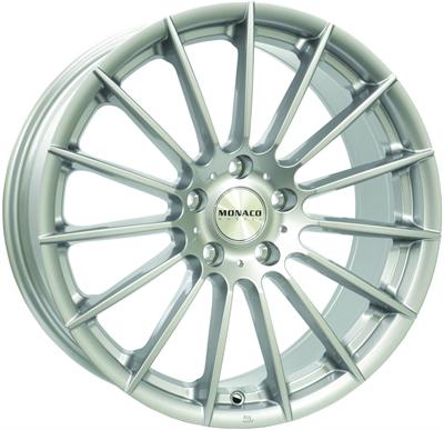 334751 MC MO13 8519512030 Monaco Formula fælg, 8.5x19 ET30, 120.00/5, Ø72.6, silver Monaco