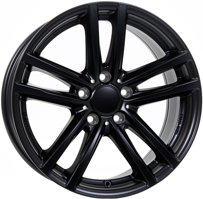 254435 UW X10MB 9019512037 Uniwheels X10  fælg, 9x19 ET37, 120.00/5, Ø74, racing-schwarz Rial