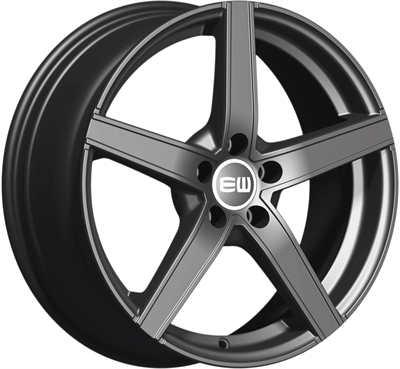 432507 ETW JAP 6516410820 Elite Jazzy fælg, 6.5x16 ET20, 108.00/4, Ø65.1, Palladium (uden bolte/møtrikker) Elite Wheels